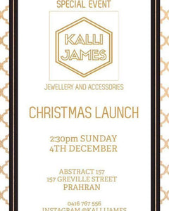 Kalli James Launch Party