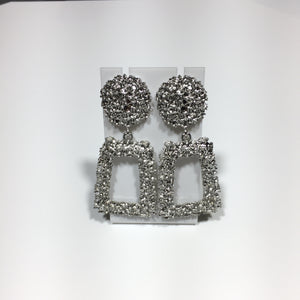 Drop Metal Earrings No.69