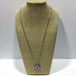 Enamel Eye of Protection Necklace #420