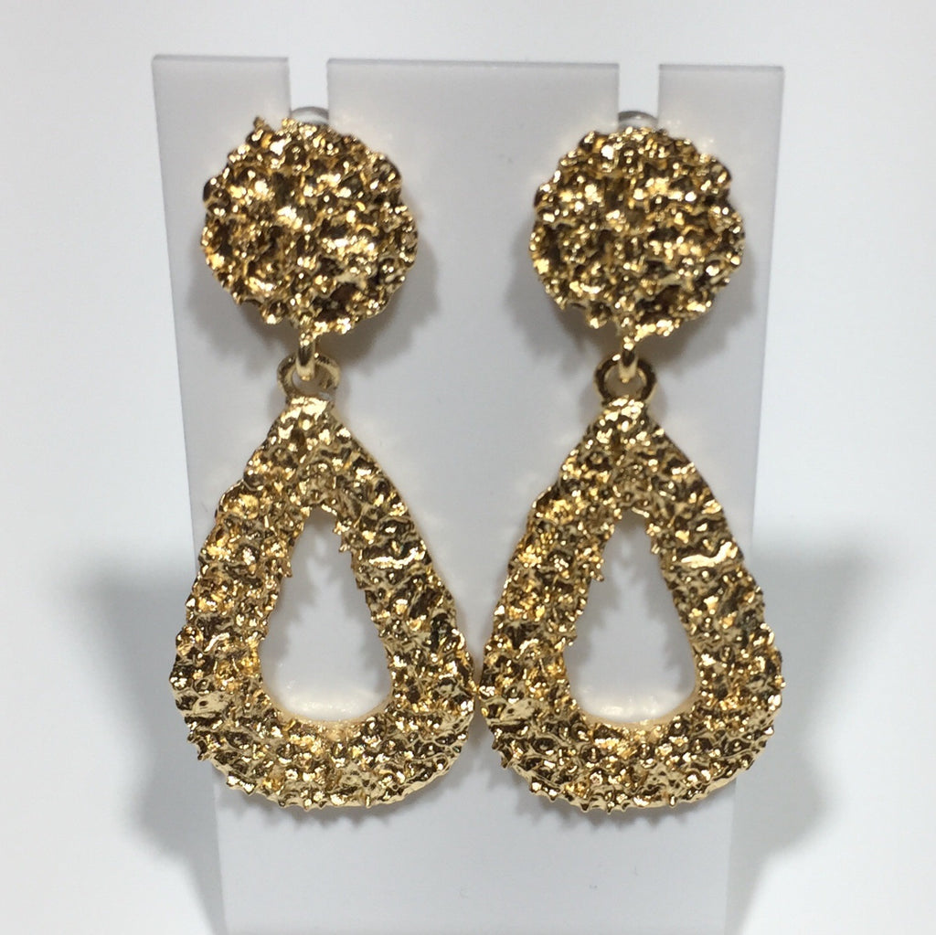 'Kore' Tear Drop Statement Earrings