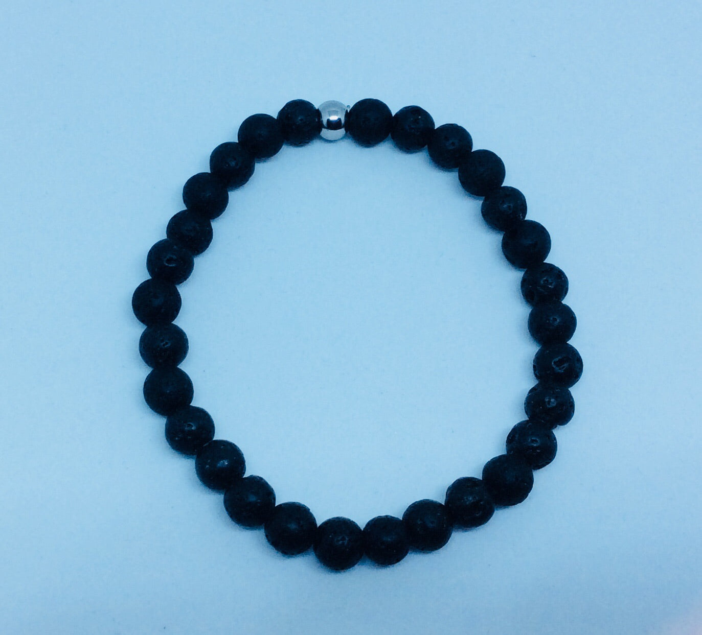 8mm Lava Rock Bracelet