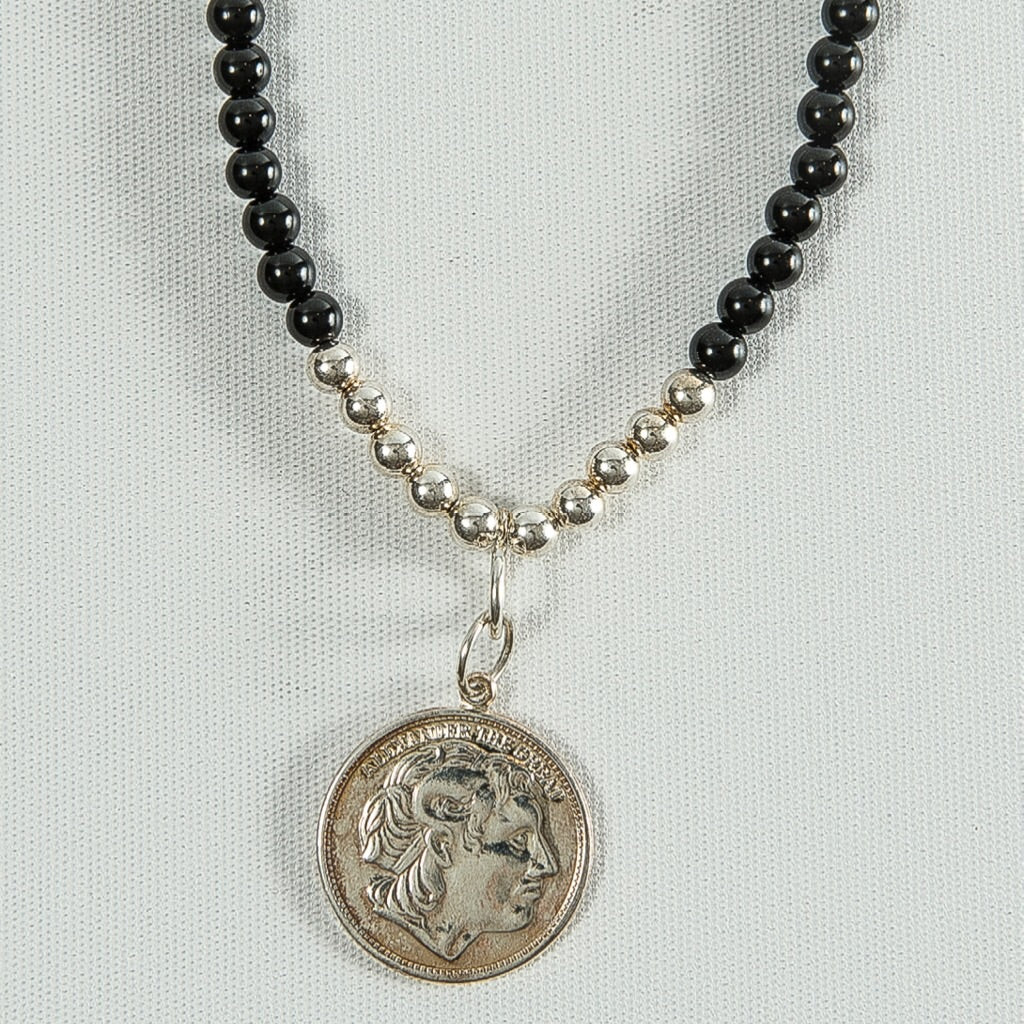 Alexander the Great Charm Necklace