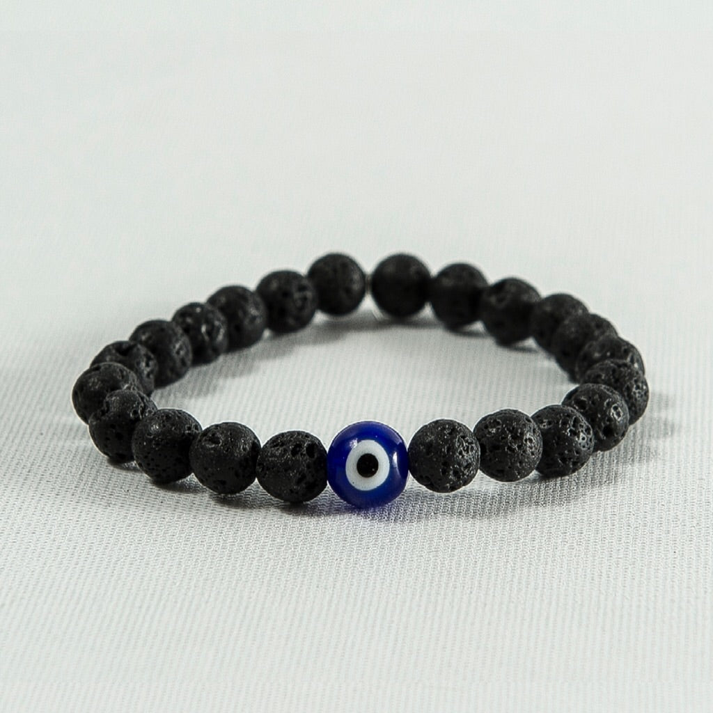 Evil Eye and Lava Rock