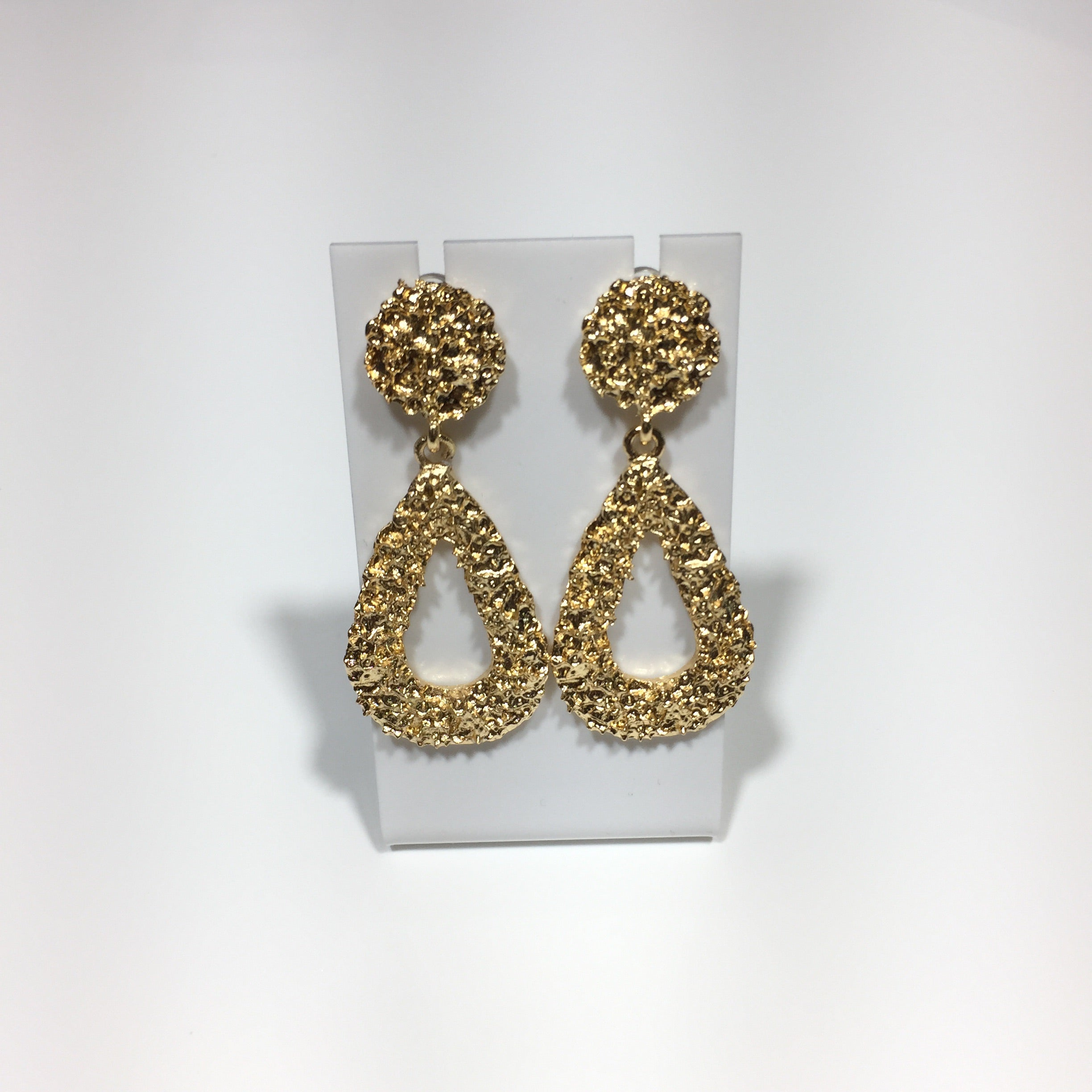 Tear Drop Statement Earrings