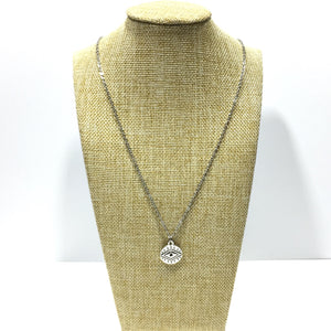 Eye of Protection Coin Necklace