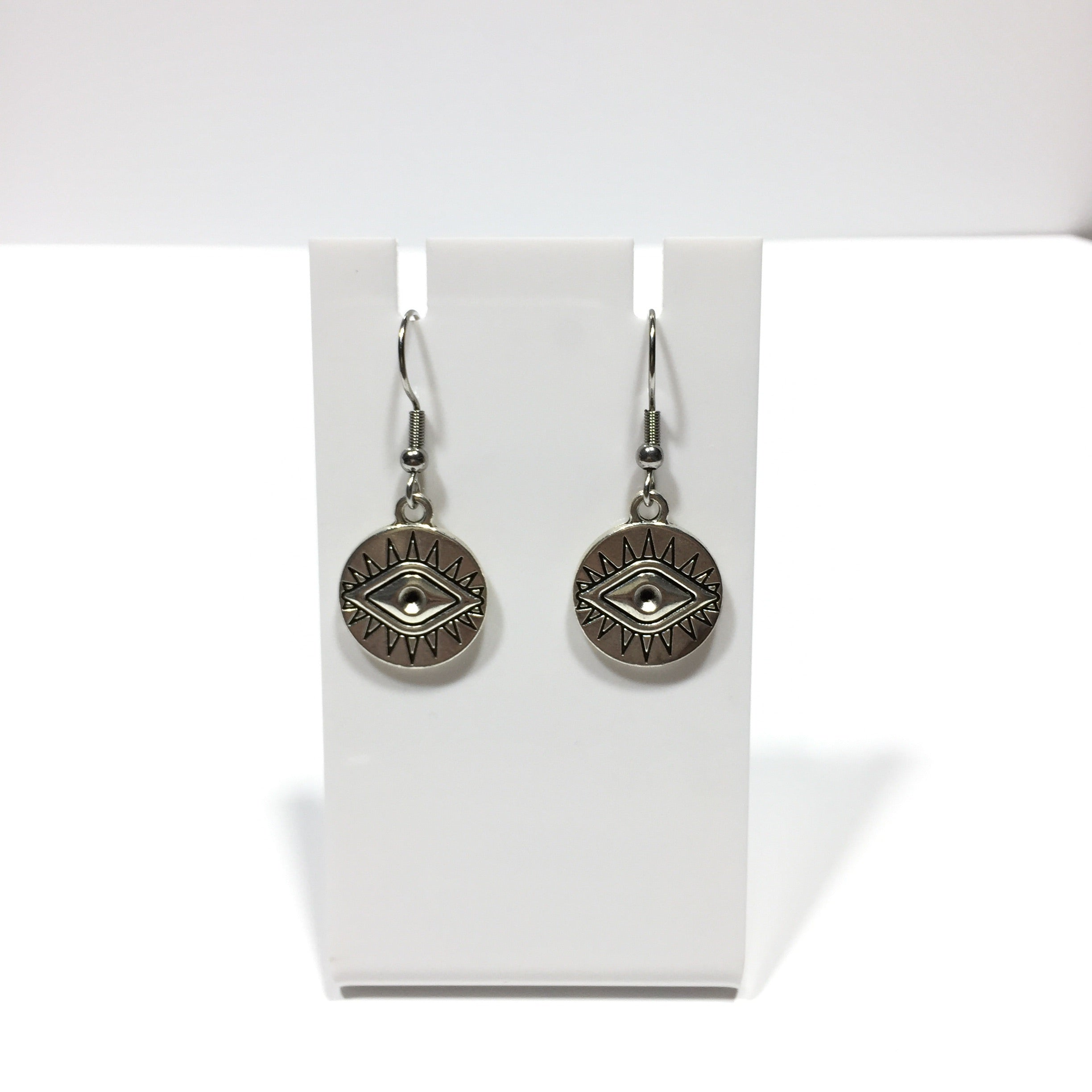Eye Charm Earrings #438