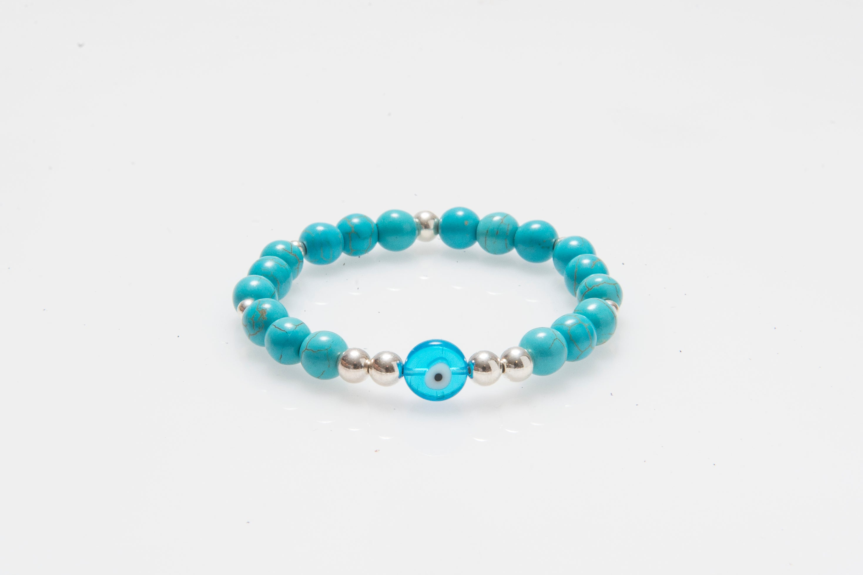 Blue Howlite Eye