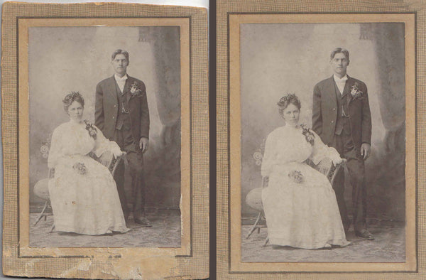 Photo Restoration - Bronze Package