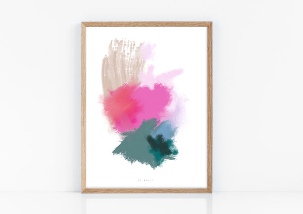 You Are Magic Abstract wall Art Print