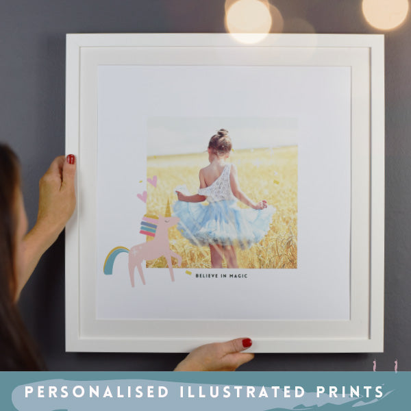 Unicorn Photo Print