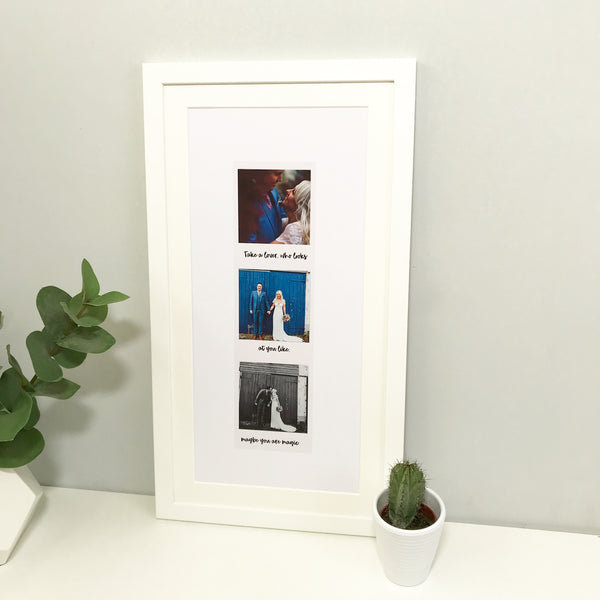 Personalised Photograph Photo Booth Print
