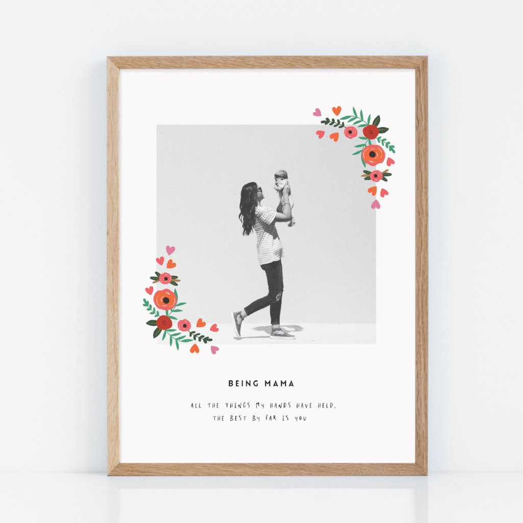Being Mama Mothers Day Print