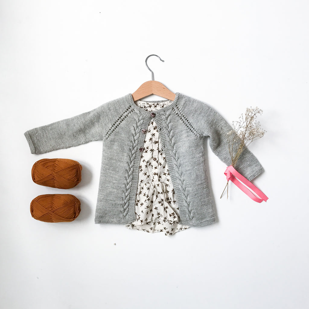 Soft Wave Cardigan (English)