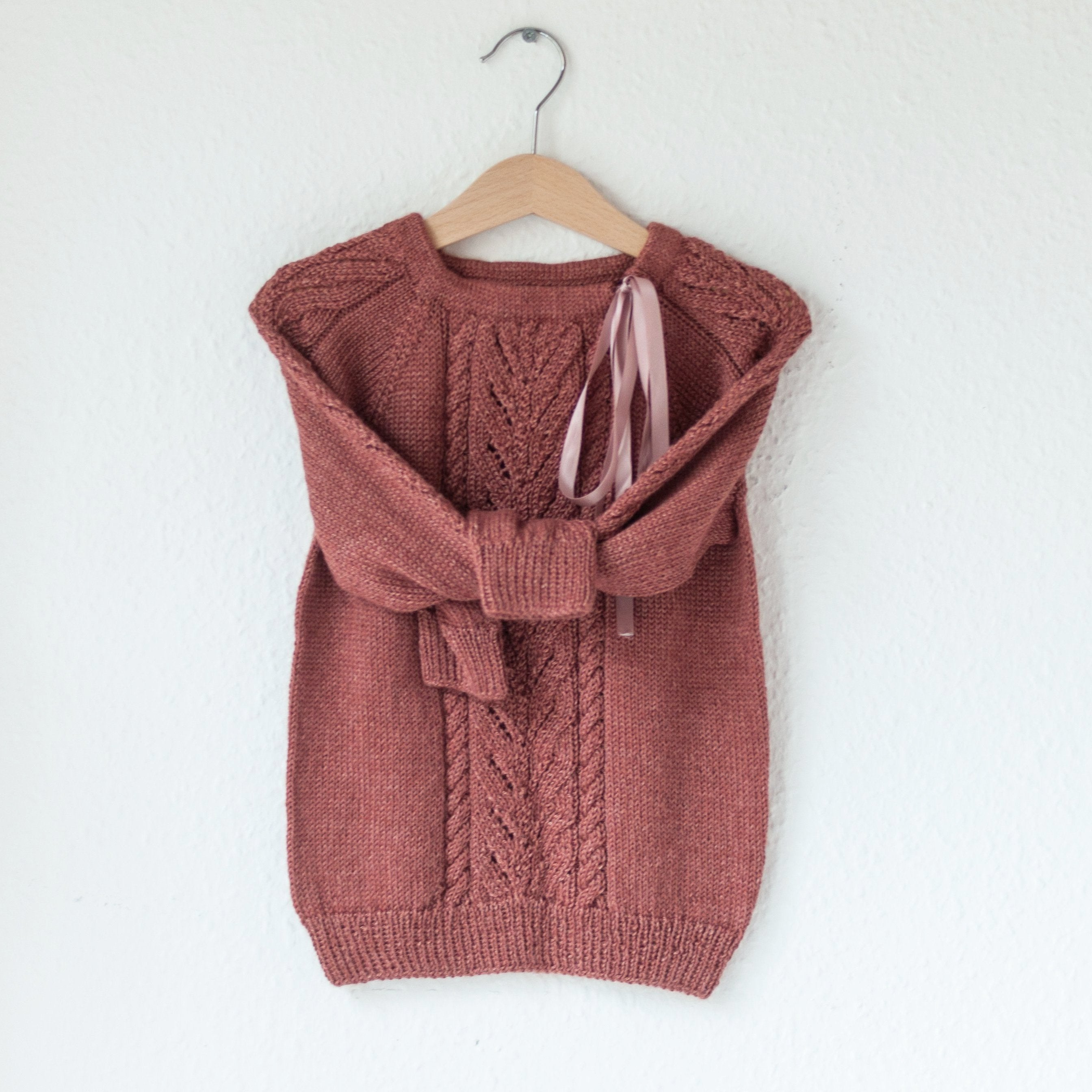 Twisted Leaf Sweater