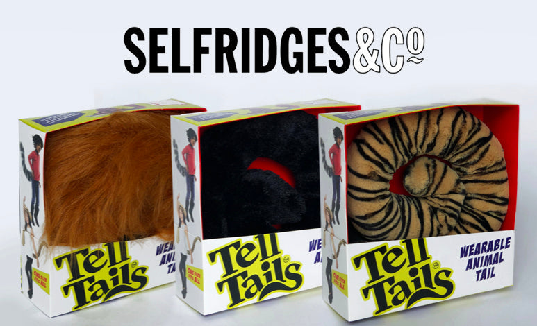 Selfridges take on our feral animal tails!