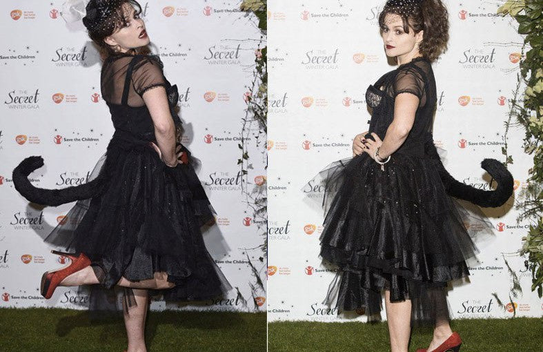 Helena Bonham Carter gets wild with our classic tail
