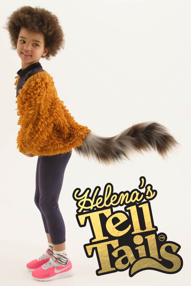 Fluffy Feline Tail By Helena  Telltails-6483