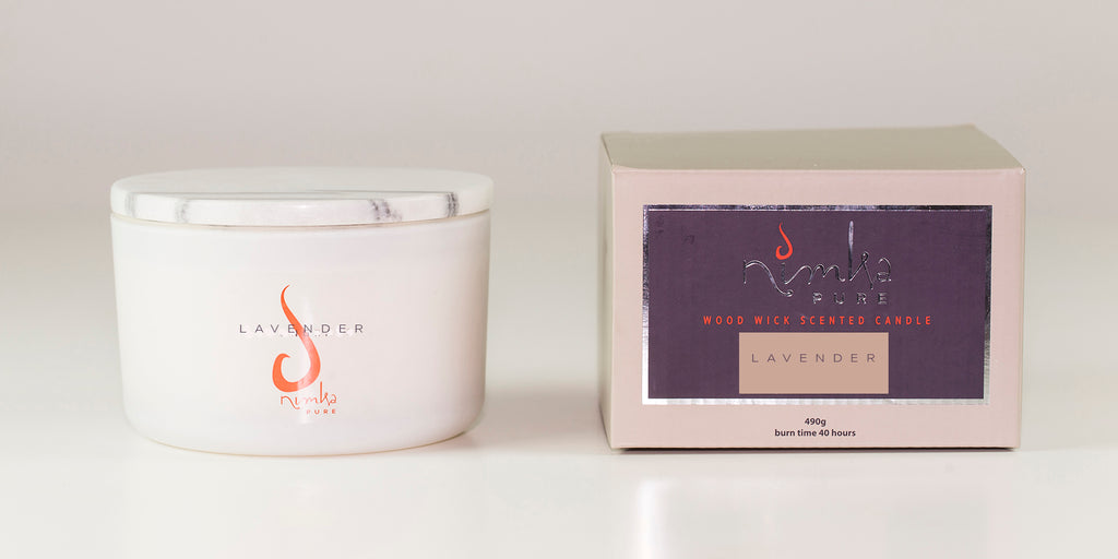 3 Wick Candle<br><b>Lavender</br></b>