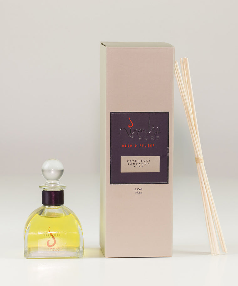 Reed Diffuser<br><b>Patchouli, Cardamon & Pine</br></b>