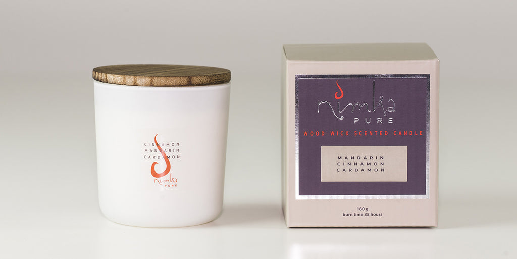 Small Candle <u>LIMITED EDITION</u><br><b>Cinnamon, Mandarin & Cardamon</br></b>