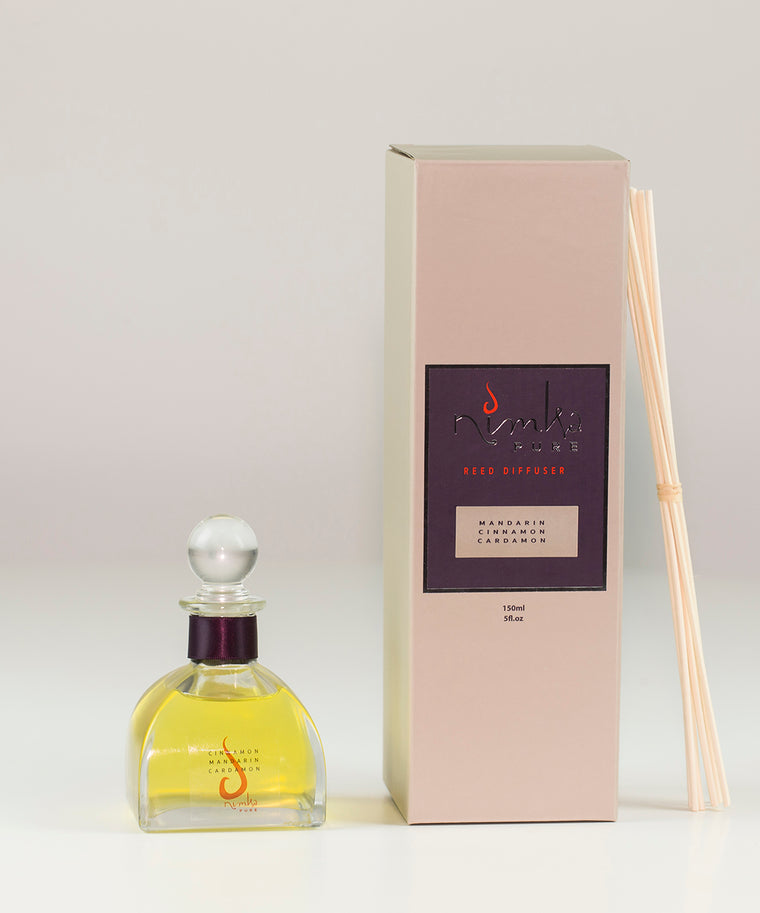 Reed Diffuser <u>LIMITED EDITION</u><br><b>Cinnamon, Mandarin & Cardamon</br></b>