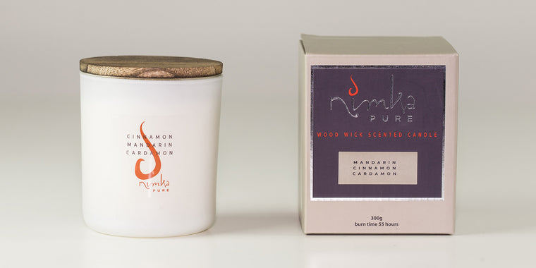 Standard Candle <u>LIMITED EDITION</u><br><b>Cinnamon, Mandarin & Cardamon</br></b>
