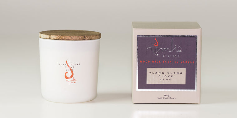 Small Candle<br><b>Ylang Ylang, Clove & Lime</br></b>