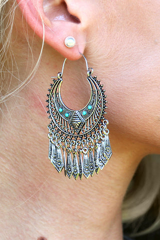WESTERN GYPSY EARRINGS - The Teal Tulip - www.tealtulip.com