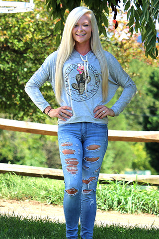 """BLAME IT ON MY WILD HEART"" DOLMAN HOODIE - The Teal Tulip - www.tealtulip.com"