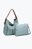 LET IT BE (VEGAN) LEATHER BAG WITH CROSS-BODY 2 IN 1 - The Teal Tulip - www.tealtulip.com