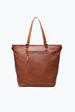 LIVING IN A MOMENT WOVEN VEGAN LEATHER TOTE BAG - The Teal Tulip - www.tealtulip.com