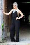 ON THE RUN JUMPSUIT IN BLACK - The Teal Tulip - www.tealtulip.com