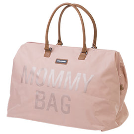 Childhome - Mommy Bag Big - Colours: Pink, Black, Off-White, Navy, Leatherlook Brown, Grey