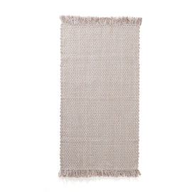 Handwoven Cotton Rug 70x140 - Available in Pink & Grey