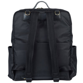 TWELVElittle - Peek A Boo Backpack Diaper Bag - Black