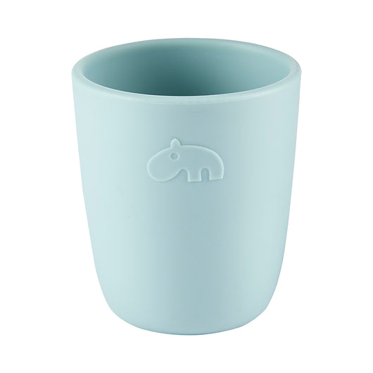 Done by Deer - Silicone Mini Mug, Deer Friends- Color: Blue, Powder, Green, Grey