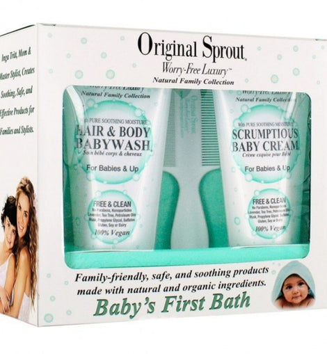 Original Sprout - Baby's First Bath Kit