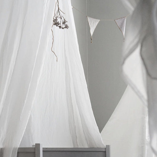 Bed Canopy White