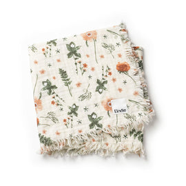 Elodie Soft Cotton Blanket - Meadow Blossom