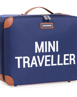Childhome - Mini Traveller Kids Suitcase - Navy White