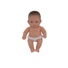 Miniland - Baby Doll Asian- Boy or Girl 21CM