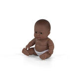 Miniland - Baby Doll Hispanic - Boy or Girl 21CM