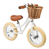 BANWOOD - FIRST GO BIKE- COLORS: Navy, Dark Green, White, Pink, Cream, Red, Coral, Sky