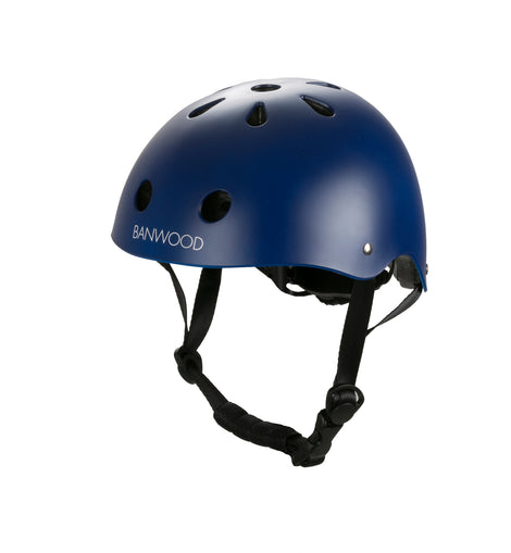 BANWOOD - HELMET - COLORS: Navy, Dark Green, White, Pink, Cream, Red, Coral, Sky, Chrome