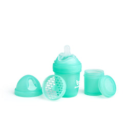 Baby Bottle 140ml/ 4.7oz - Color: Turquoise, Pink, Grey