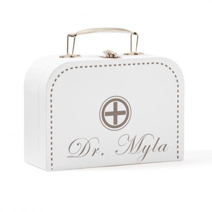 Personalised Doctor's case white