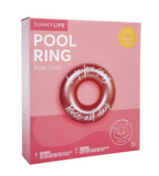 Sunnylife - Pool Ring | Rose Gold