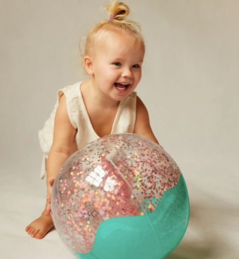Sunnylife - 3D Inflatable Beach Ball  | Glitter Mermaid