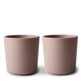 Mushie - Dinnerware Cup 2pc-Set - Blush