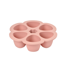 Béaba - Silicone Multiportions 6 x 150ml - Old Pink
